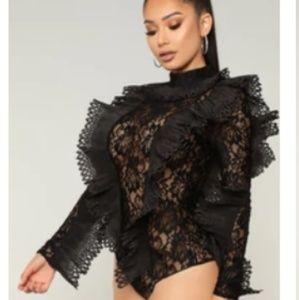 Drisana Lace Bodysuit